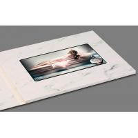 China Artificial Style And Card Product Type Digital Business Card With Lcd Video Brochure on sale