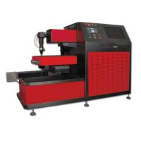 Quality Small CNC Laser Cutter for Saw Blade , Ironware Cutting Gas Oxygen Nitrogen or Air wholesale
