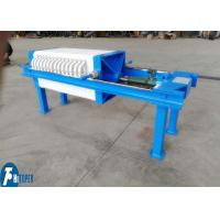 Quality Manual Operation / Jack Screw Industrial Filter Press Equipment Used In Smelt Field wholesale