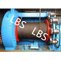 Quality Lebus Grooves Offshore Winch Oil Well Drilling Rig Parts Winch With Brake Disc wholesale