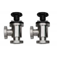 Quality Manual  Vacuum Angle Valve  CF Flange Small Leakage Any Mounting Position wholesale