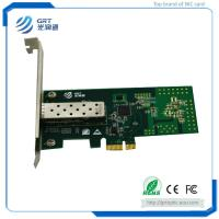 Quality F901E  Intel I210 1.25GbE 1-Port Fibre Optic Network Card with optimized performance and new power solution wholesale