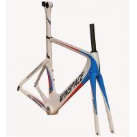 Quality Single Speed Aero Track Bike Frame Carbon Fiber 700C Customized Aero Multi Color wholesale