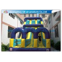 China Outdoor Large Slip N Slide Water Slide / Children Double Water Slide Inflatable on sale