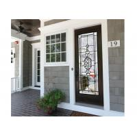 Quality Weathered Tempered Sliding Glass Door Surface Sketch Easier To Clean wholesale