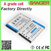 Quality Digital camera battery for casio CNP20 with shenzhen factory price wholesale
