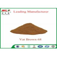 Quality 100% Purity Synthetic Dyes C I Vat brown 68 Brown G Not Dissolved In Water wholesale