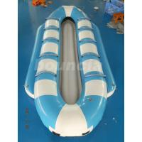 Quality Double Lanes Inflatable Banana Boat / Towable Tube Boat For Sea wholesale