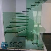 Quality toughened glass factory tempered glass stair 8mm 10mm 12mm 15mm 19mm wholesale