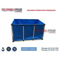 Quality Collapsible and Portable Fish Pond for Home Fish Breeding wholesale