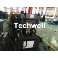 Quality Top Purlin GI Carbon Steel Cold Roll Forming Machine 0-15m/Min 15KW wholesale