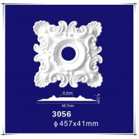 """Quality Hot Selling Products Architectural Interior Decoration 18"""" PU Square Ceiling Medallion wholesale"""