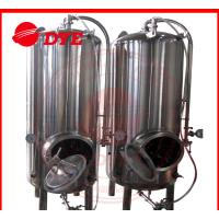 Quality Common 7BBL Steam Bright Beer Tanks Industrial Tri-Clamp Connection wholesale