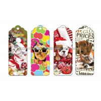 Quality Reading Lenticular Personalized 3d Bookmarks For Kids To Print 3d Animal Bookmarks wholesale