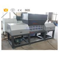 Quality Double Shaft Scrap Metal Shredder Machine For Waste Tire Rubber Plastic wholesale
