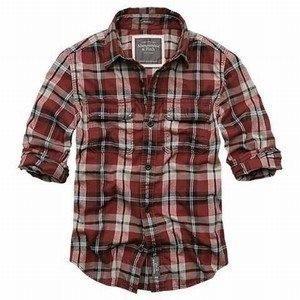 Quality cheap A&F men shirts dress shirts wholesale accept credit card paypal wholesale