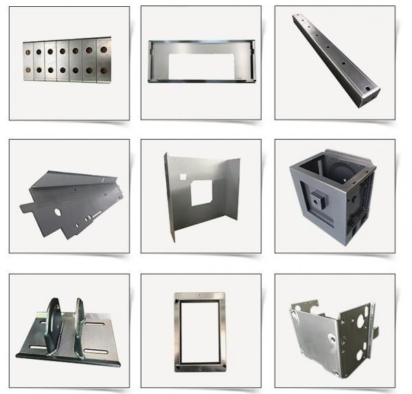 Metal Material Sheet Metal Fabrication Service Manufacturing