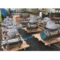 Quality High Pressure Fixed Ball Trunnion Mounted Ball Valve With Worm Gear Operation wholesale
