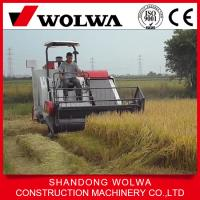 Quality W4SD-2.0D mini rice combine harvester made in china with 75hp power wholesale