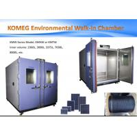 Buy cheap Programmable Walk-in Chamber High Low Temperature Humidity Aging Cabinet KMHW-55 from wholesalers
