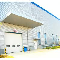 China Precision Industrial Sectional Doors Insulated Mental / Sandwich Panel , 40mm Width on sale