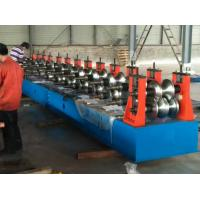 Quality Freeway Barrier Profile Roll Forming Machine Cold Bending Use Multi-rollers Stations by Huge Power 45 Kw Motor wholesale