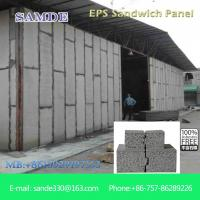 China Light weight precast concrete wall panels  eps board 2440*610*75mm on sale