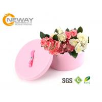 Quality Flower Gift Box Round Colorful Luxury Flower Custom Printed Cardboard Boxes for Gift Packing wholesale