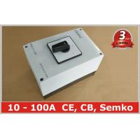 Quality 100A Changeover Selector Switch Waterproof Ip65 , 3 Position Rotary Switch wholesale