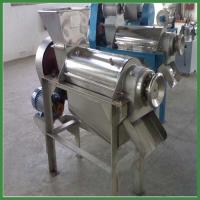 Quality Automatic Fruit Juice Extractor|Stainless Steel Screw Juice Extracting Machine wholesale