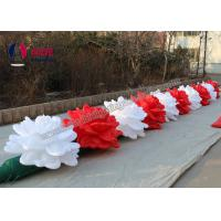 Cheap 10 M Length Advertising Inflatables Flower Wedding Decoration Oxford Fabric for sale