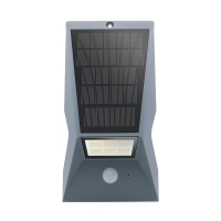China Modern Waterproof Remote Control Pir Garden Solar Wall Light Motion Sensor on sale