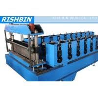 Buy cheap CE & ISO Metal Deck Roll Forming Machine with 22 KW Power for Floor Deck from wholesalers