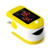 China Digital LED Display Finger Pulse Oximeter Portable Fingertip Pulse With Battery on sale