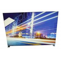Cheap Image Display Frameless Fabric LED Light Box 9cm Width With Soft PVC Strentch Film for sale