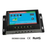 China 24V / 10A PWM Solar Charge Controller With Timer and Light Control on sale
