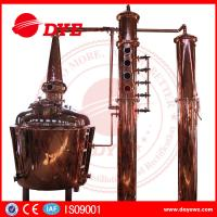 Quality 1000L Electric Alcohol Distiller Grain Whisky Temperature Control In Stock wholesale