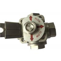 "Quality CF8M  Stainless Steel 3 way ball valve ""T"" type and ""L"" Type Flow Control wholesale"