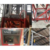 Quality 5 Rack Modulus Material Lift Elevator , Material Hoisting Equipment With Reduction Ratio 1 / 18 wholesale