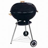 """Quality 22"""" Trolley Big Size Aaple/Kettle BBQ Grills with 79cm Cooking Height wholesale"""