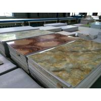 Quality PVC Faux Marble Sheet/Wall Panel/Interior Decoration Board Production Line wholesale