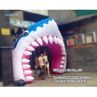 Buy cheap 3m Inflatable Shark Arch with Blower for Outdoor Advertisement or Decoration product
