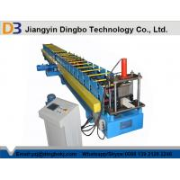 China 16 Forming Station Metal Rainwater Gutter Rolling Machine With Hydraulic Cutting 5.5KW on sale