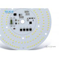 Quality AC 230V Aluminum SMD LED Module Round  Downlight Module 2835 white D100mm wholesale