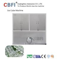 China 304 Stainless Steel Industrial Ice Cube Making Machine R22 Refrigerant on sale