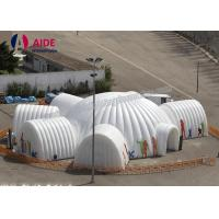 Quality Large Scale Outdoor Dome Inflatable Tent  Pop Up Shade Tent For Openings wholesale