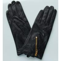 China Ladies Fashion Leather Gloves with Zipper (CF3402) on sale