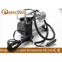Quality CE Approved 12V Portable Air Compressor For Car Tire Inflator Over Load Protection wholesale