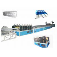 Quality 350kg/h Twin screw extruder plastic hollow roofing sheet forming machine SJZS Series wholesale