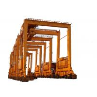 China Wheeled Double Girder Gantry Crane , 50 Ton Gantry Crane With Stable Performance on sale